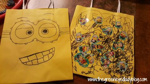 Minion Inspired Goodie Bags