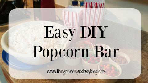 Popcorn Bar Title