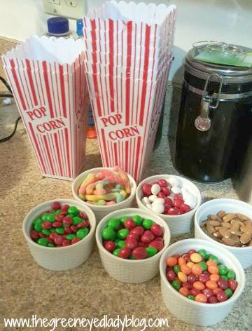 Popcorn Bar Preparation