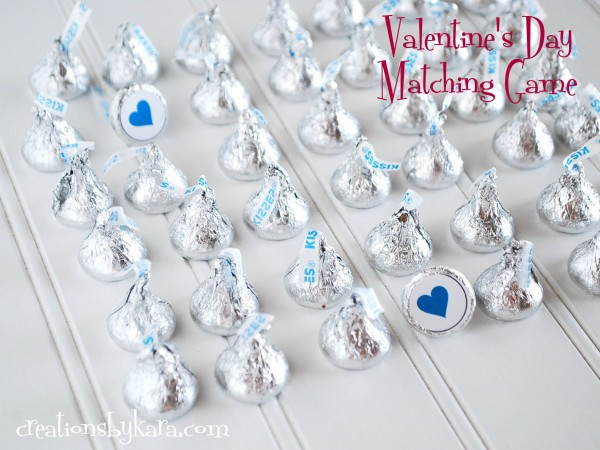Valentines Day Matching Game