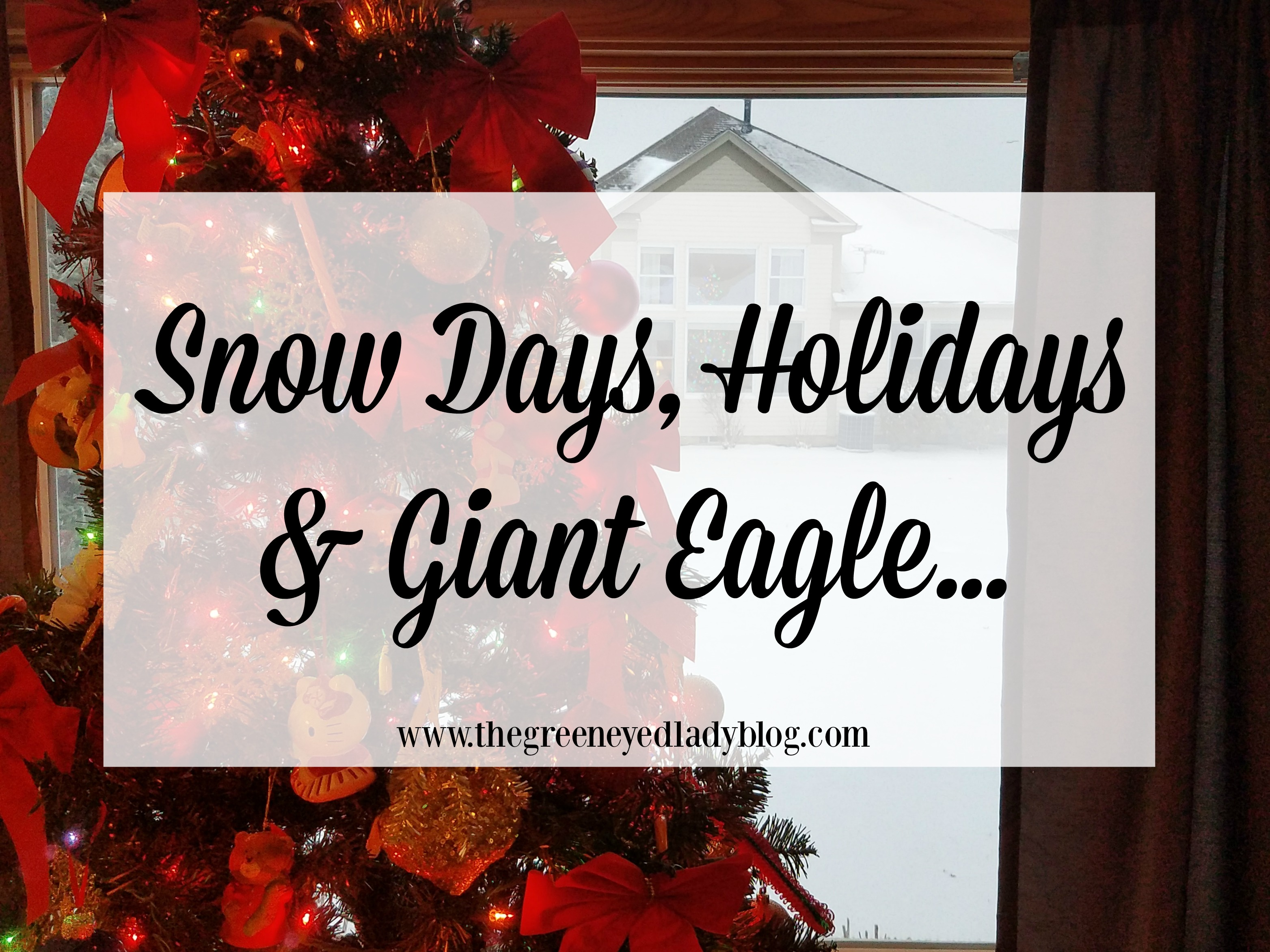 here in cleveland snow and holidays go hand in hand getting your house prepped for the holidays and keeping your house stocked during the cold weather is - Giant Eagle Christmas Hours