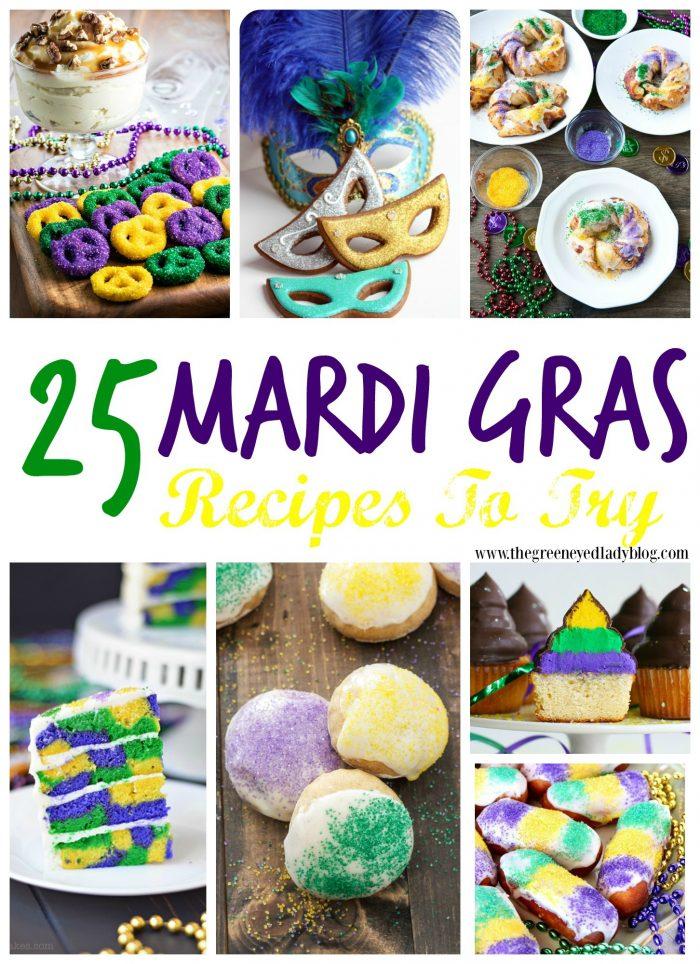 Mardi Gras Recipes