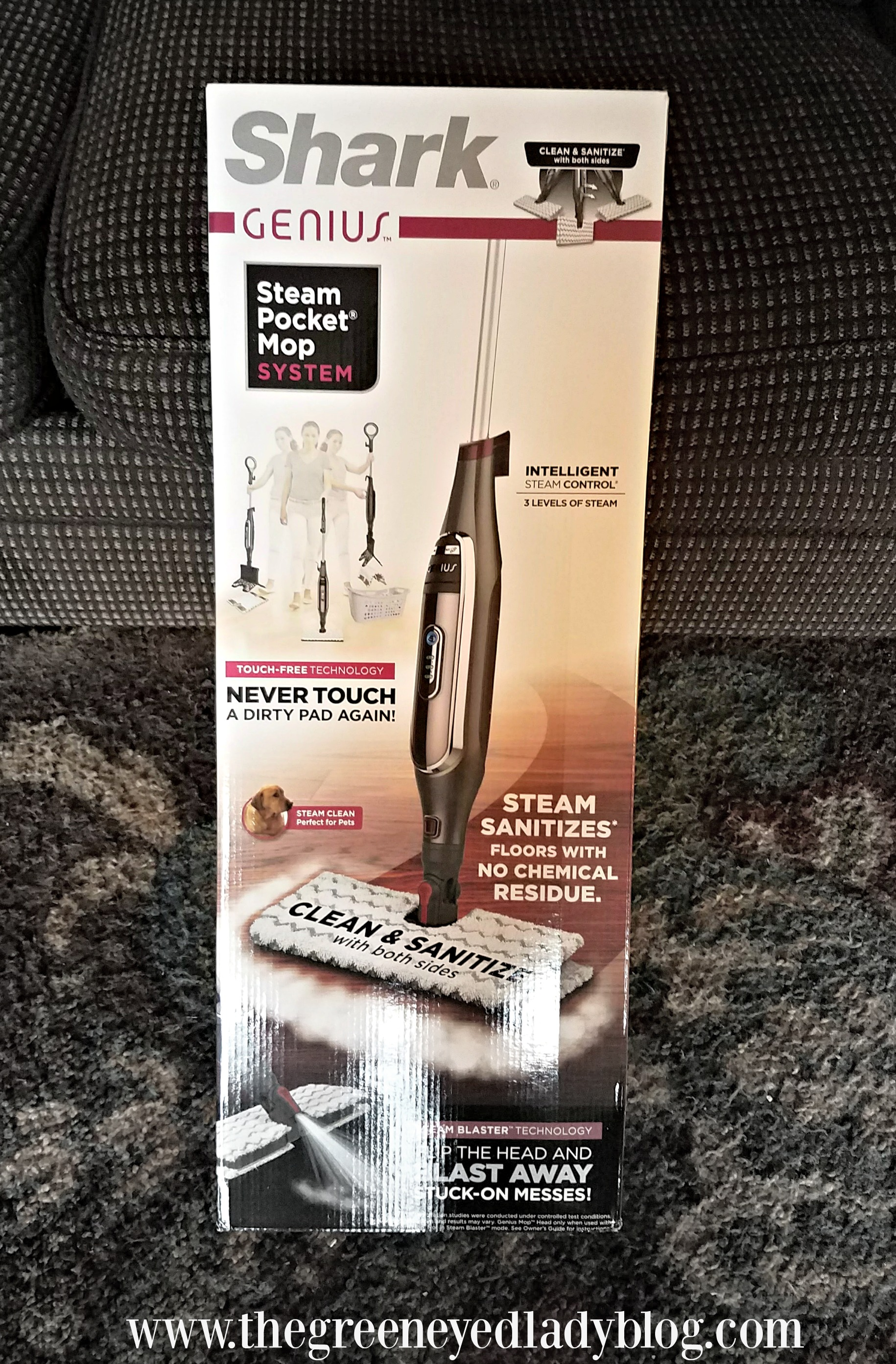 Shark Genius Pocket Mop System Product Review The Green Eyed Lady Blog