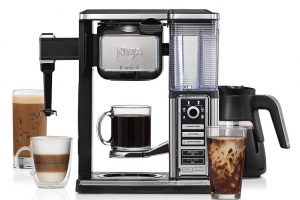 The Ninja Coffee Bar Glass Carafe System {Review} + Irish Stout Coffee Float