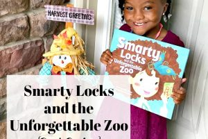 Smarty Locks and the Unforgettable Zoo {Book Review}