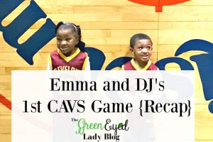Emma and DJ's 1st CAVS Game {Recap}