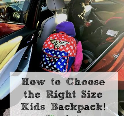 How to Choose the Right Size Kids Backpack!
