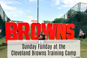 Sunday Funday at the Cleveland Browns Training Camp