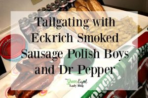 Tailgating with Eckrich Smoked Sausage Polish Boys and Dr Pepper