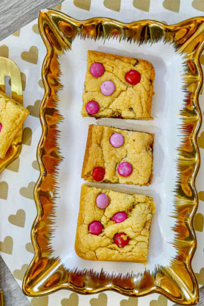 Valentines Day Cookie Bar
