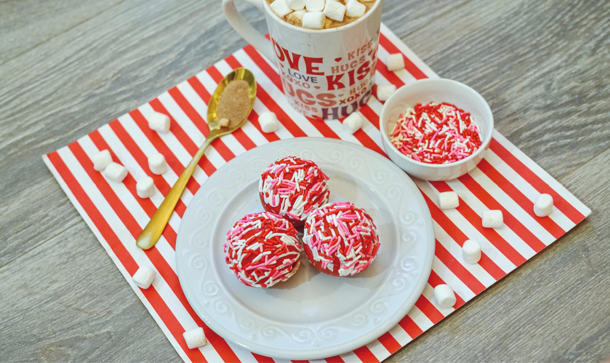 Valentines Hot Chocolate Bombs