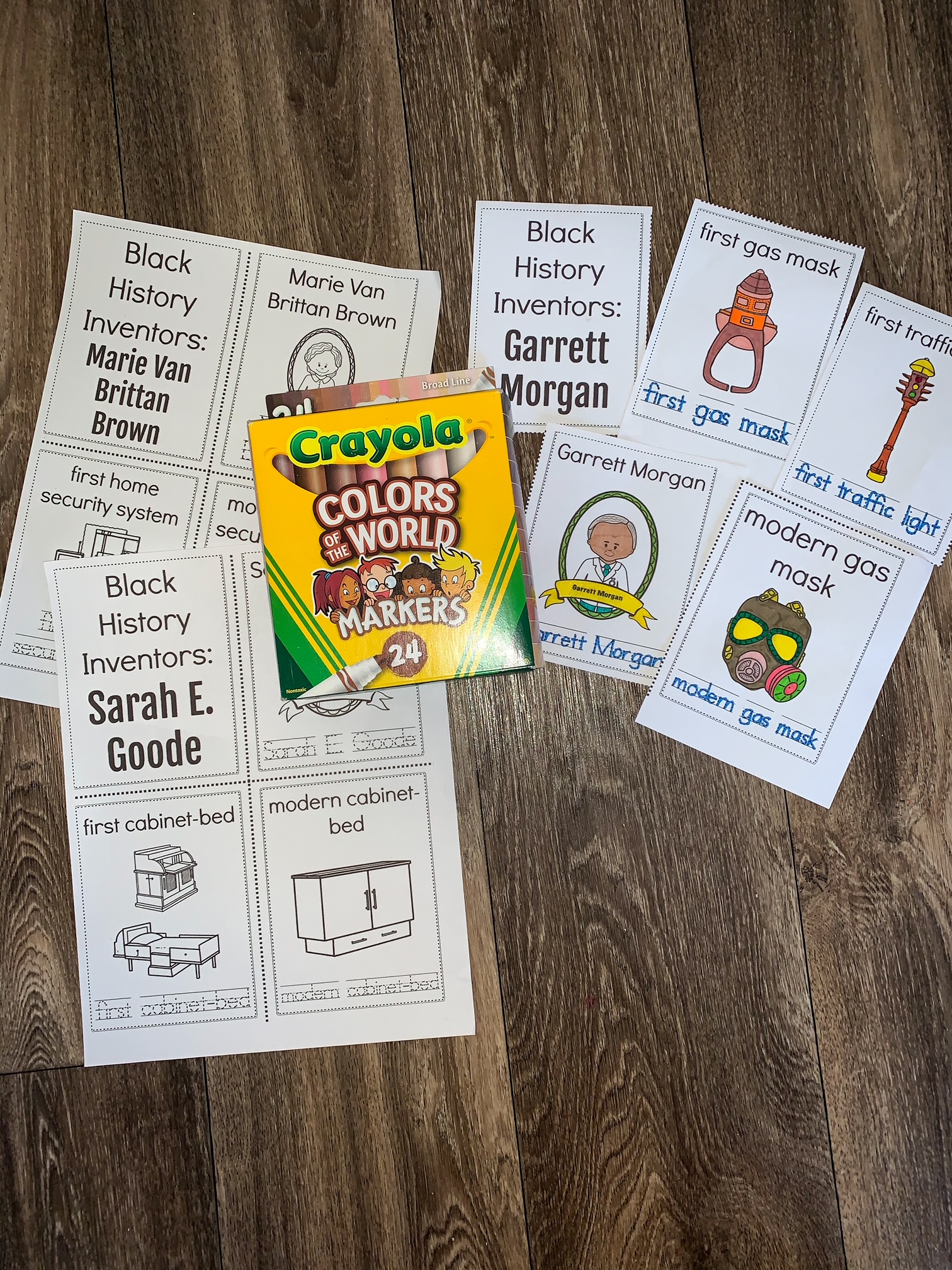 black history inventors booklets