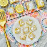 3 ingredient lemon bars